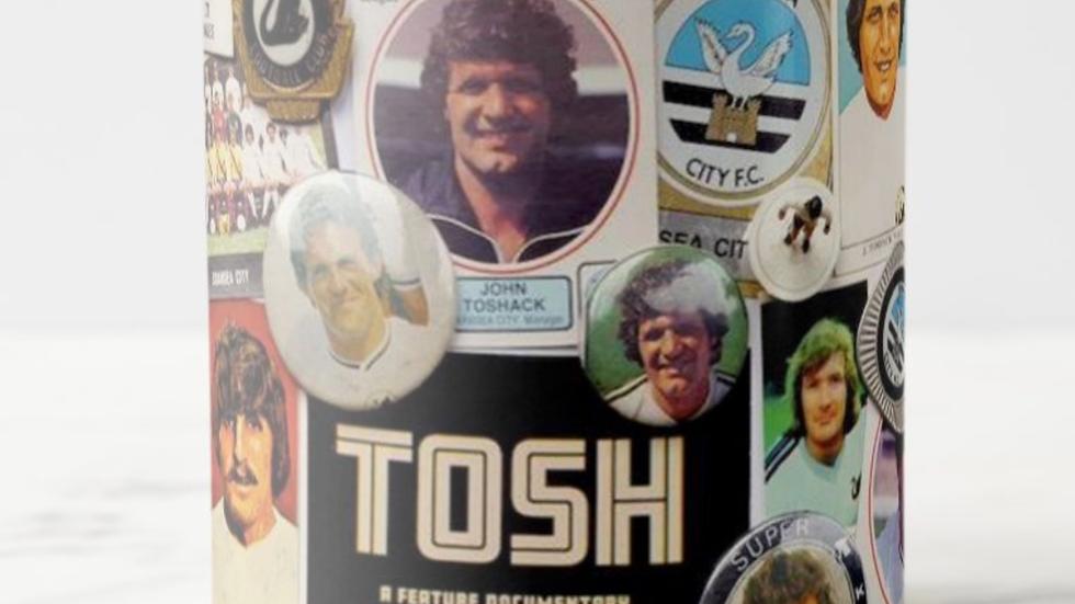 TOSH mug retro swans