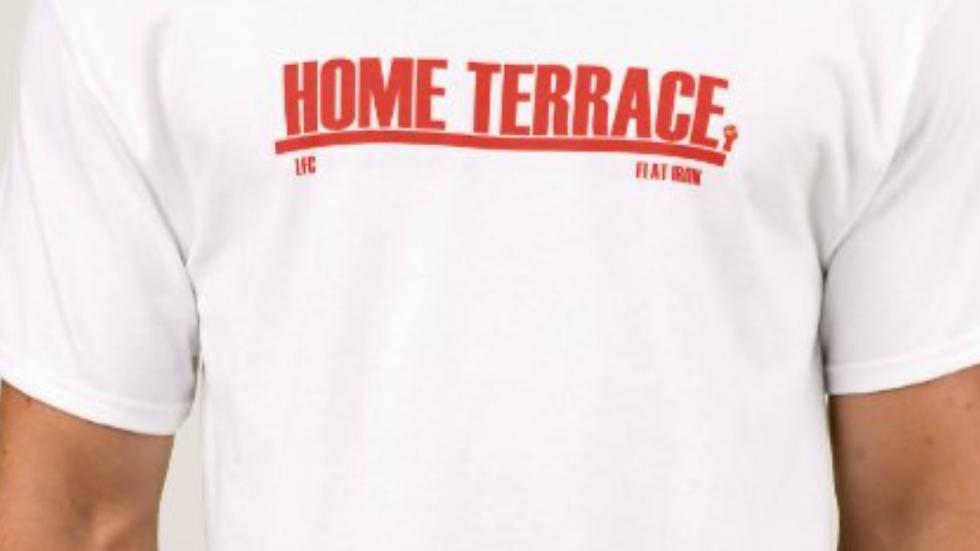 "Home Terrace ""Flat Iron"" Liverpool"