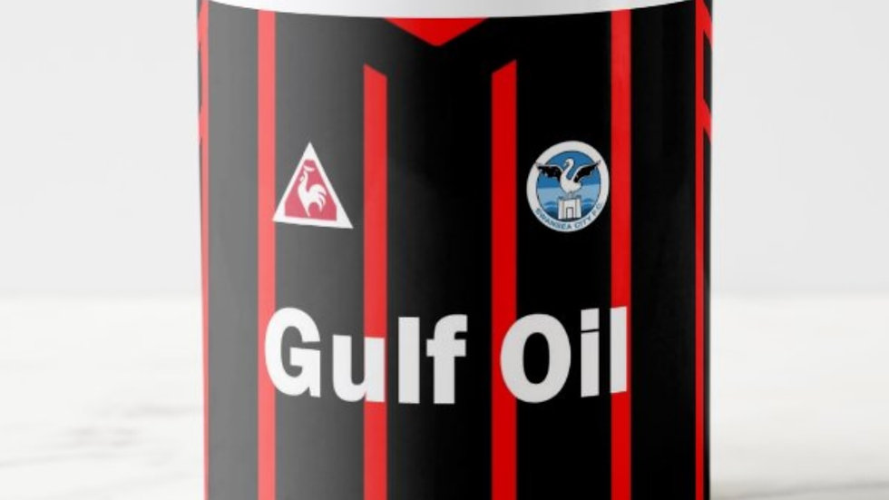 Swansea Gulf Oil Mug Black