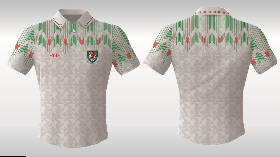Pre Order - Wales 1990s white
