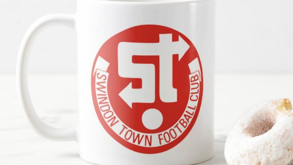 Retro Swindon Town Mug