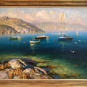 Юрий Обуховский пополнил нашу коллекцию художников, а также новые работы Евгения Захарова