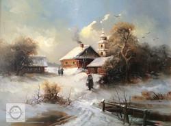 Евгений Каковкин - Дорога домой 40х30 2014.jpg