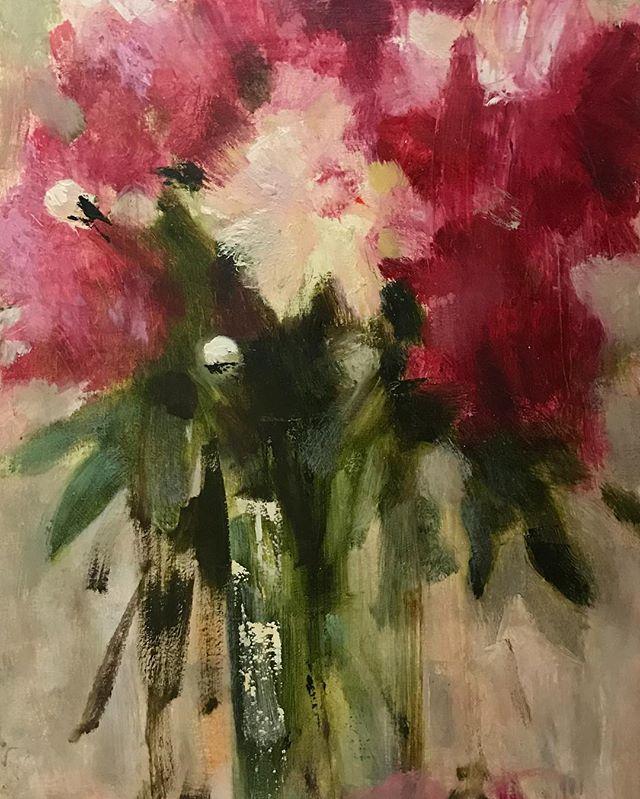 Художница Юлия Моисеева серия натюрмортов с цветами 2016-2017 в наличии в нашей галерее #люмьеръ #юлиямоисеевалюмьеръ