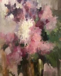 Художница Юлия Моисеева серия натюрмортов с цветами 2016-2017 в наличии в нашей галерее #люмьеръ #юл