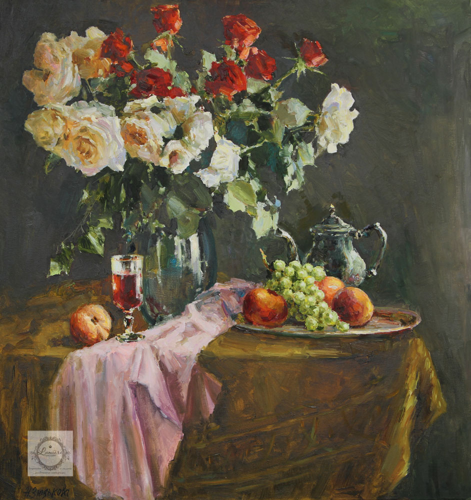 Зюзькова Натюрморт с розами.jpg