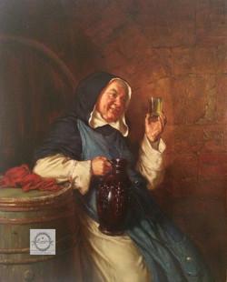 В. Беляков Х.М. 18х24 монашка