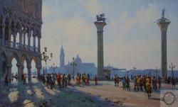Максим Сидоренко, Утро в Венеции, х.м., 50х80, 2014..jpg