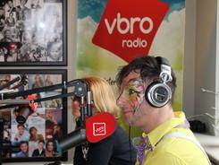 Op 24 juli is er de eerste VBRO Radioshow in Jabbeke