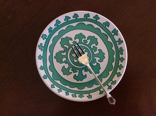 Danica Dessert Plate - Turquoise - Set of 4
