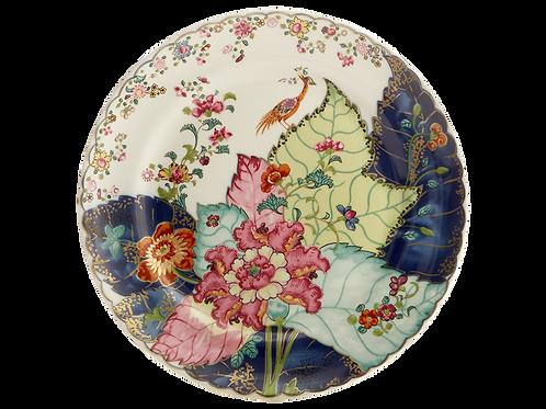 Tobacco Leaf Dinner Plate- S/4