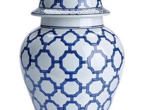 Dynasty Link Porcelain Temple Jar
