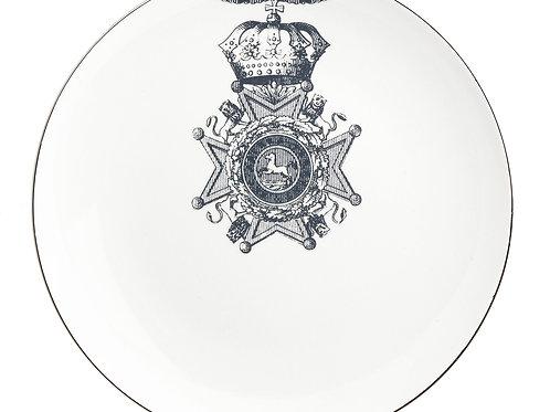 MB Ribbon Lion Dinner Plate-Set of 4.