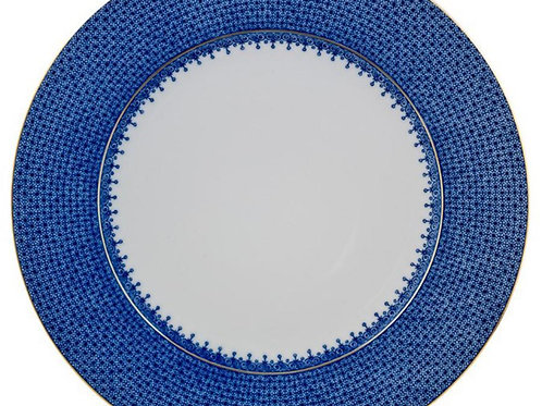 Blue Lace Dinner Plate - S/4