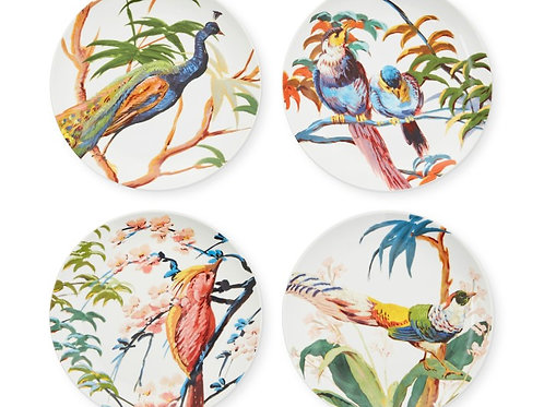 Pavao Collection Peacock Bowls- S/4