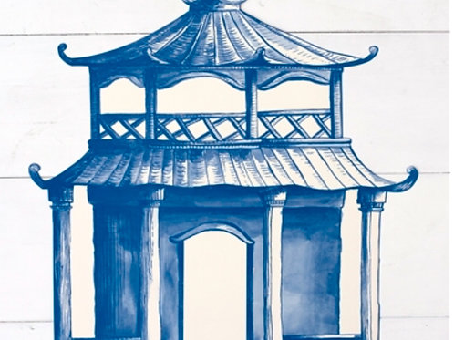 Die Cut Pagoda Placemat