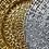 Thumbnail: Gold Glass Kronos Charger Plate - 4/Set