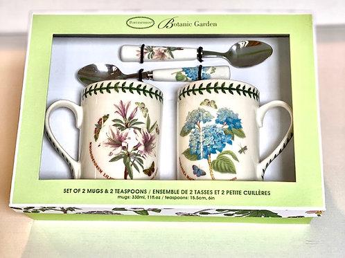Portmeiron Botanic Garden Tea Mug Set - S/4