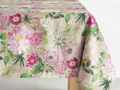 Pink Bloom Italy Tablecloth