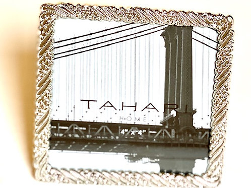 Silver Picture Frame - 4 x 4