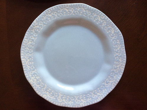 Vintage Design Light Blue Dinner Plate - Set of 6