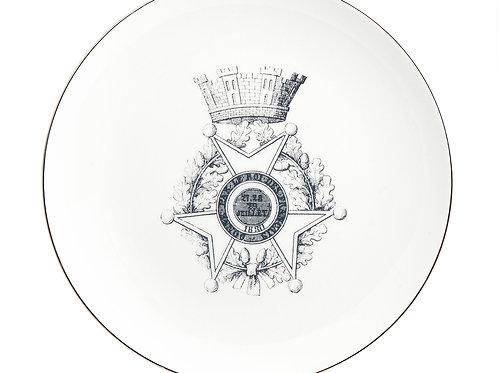 MB Medallion Castle Salad Plate-Set of 4