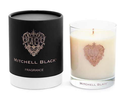Mitchell Black White Soy Candle