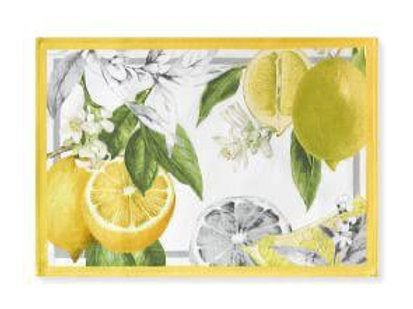 Lemon Placemat- S/4