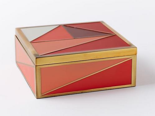 Graphic Enamel Tile Box