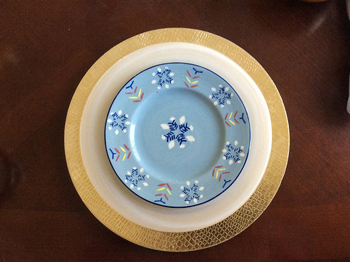 Holiday Salad Plates - Set/4
