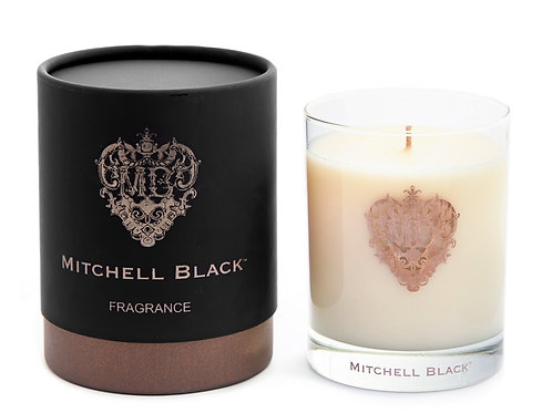 Mitchell Black Hearth Soy Candle