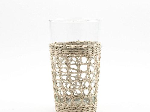 Seagrass Highball Glass- S/4