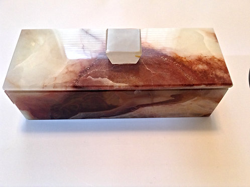 Onyx Lidded Box