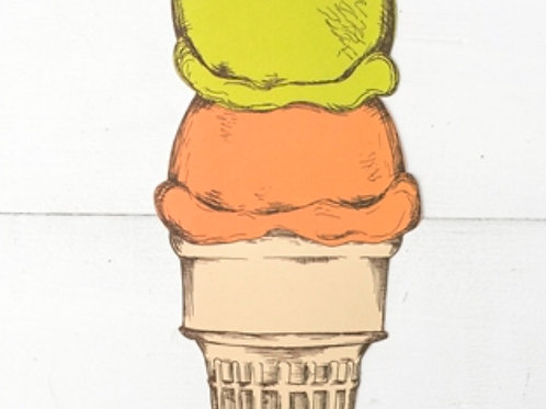 Ice Cream Table Accent