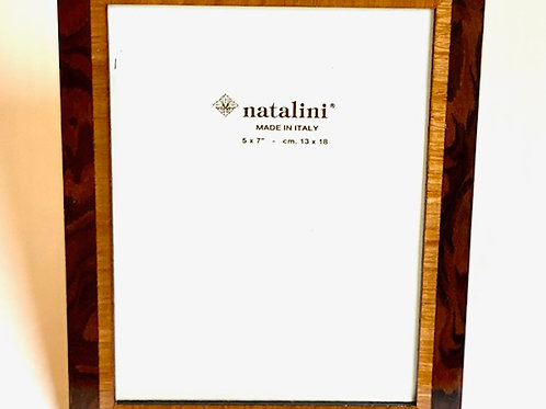 Natalini Brown Wood Picture Frame -  4 x 6