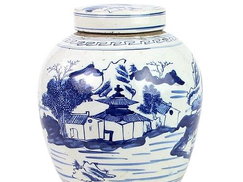 Landscape Motif Mini Jar