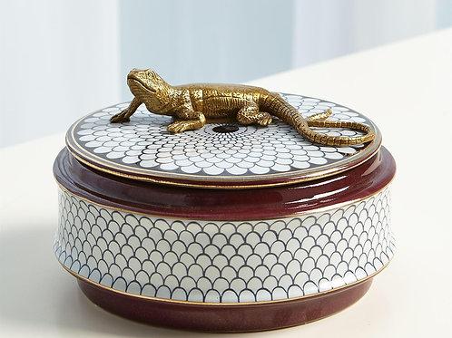 Gecko Decorative Box
