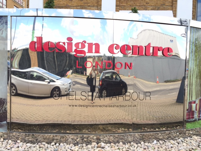 Checking out the design scene across the pond