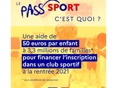 Le Pass'Sport, c'est quoi ?