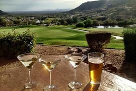 golf course al fresco