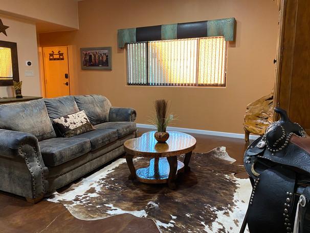 bunkhouse living room