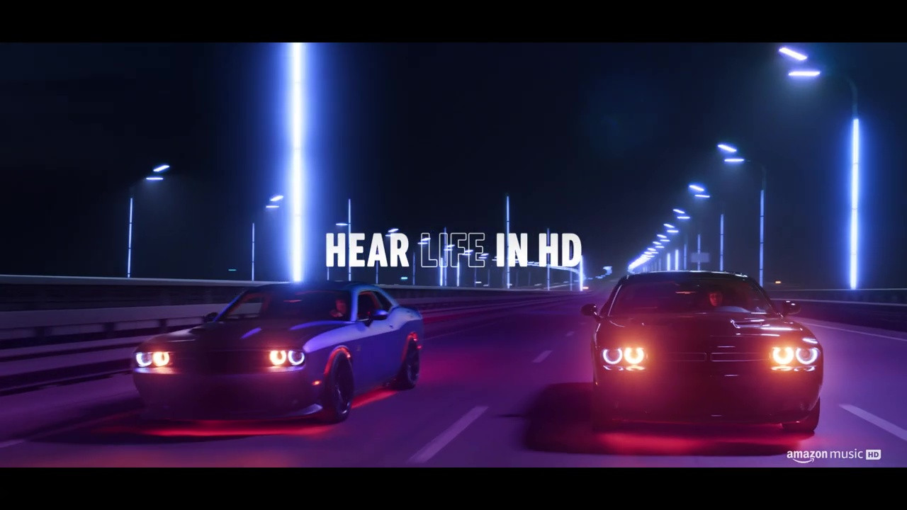 Amazon Music Commercial