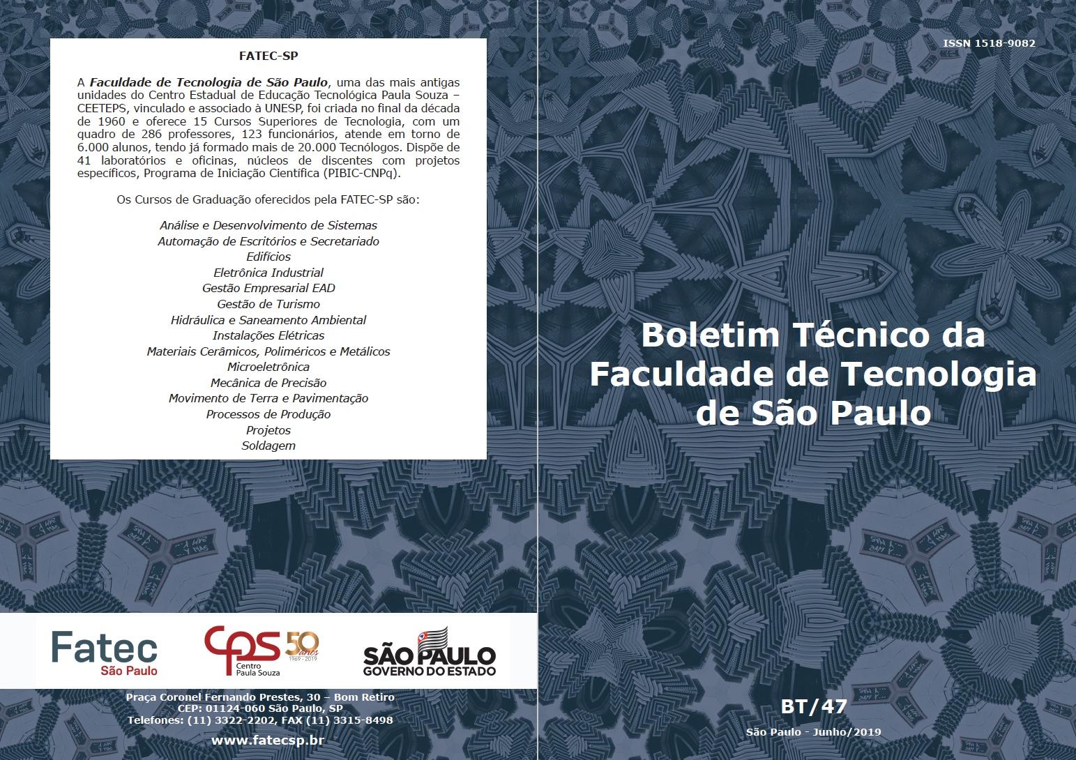 BT47/2019 Fatec-SP
