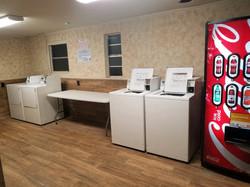Newly renovated laundry facilities