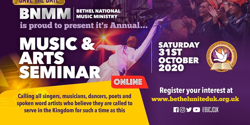 BNMM Music and Arts Seminar