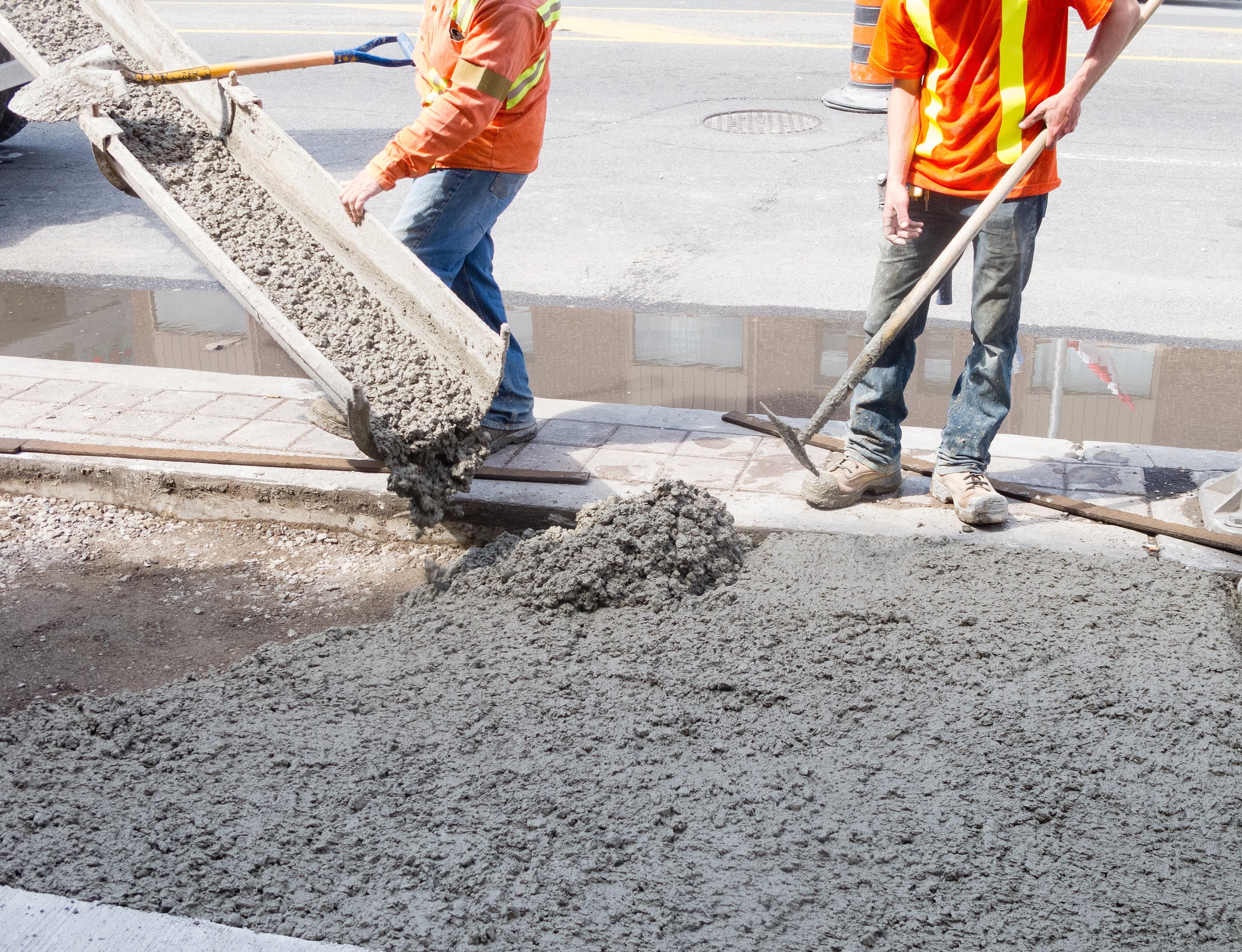 ОтветыMailRu чем отличается стяжка от бетона