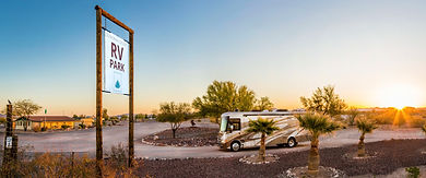 RV park and Motorhome