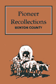 Pioneer Recollections book