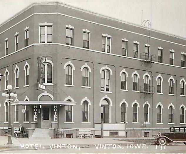 Vinton Hotel 1940s