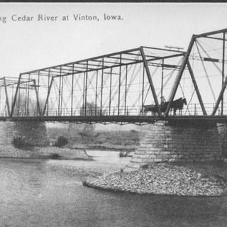 Cedar River Bridge at Vinton